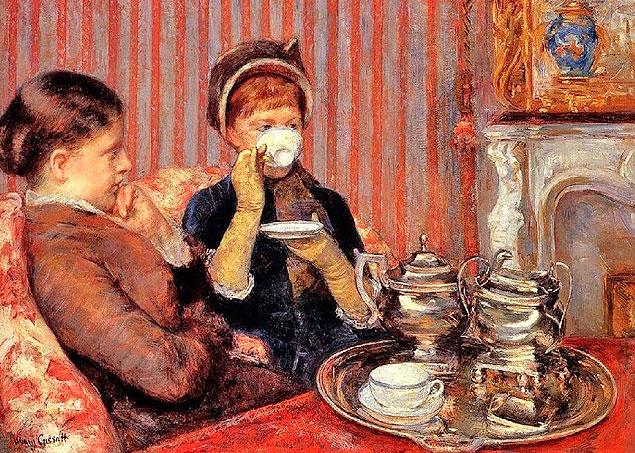 Рецепт английского чая с молоком