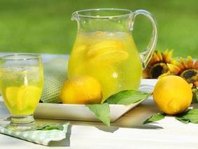 Готовим лимонад с зеленым чаем