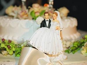 Способы украшения свадебного торта