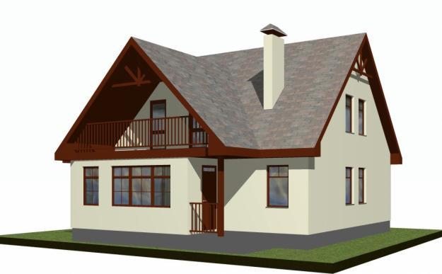 Многообразие выбора добротных домов с разнообразными архитектурными формами в компании «Теремъ»