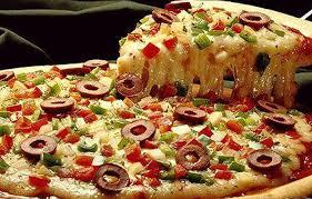 Эта вкусная и полезная пицца