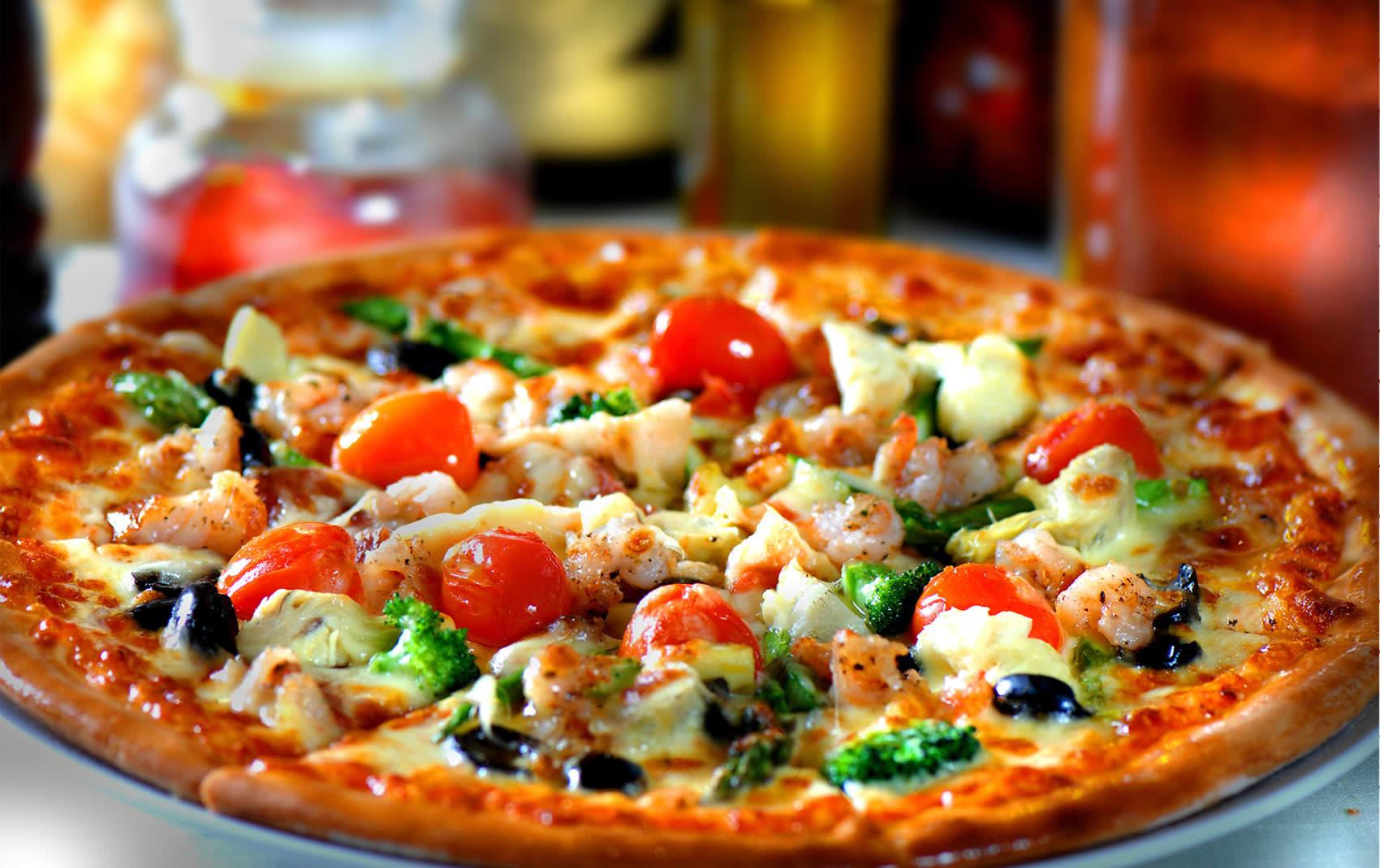 Пицца не только вкусна, но и полезна