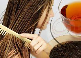 Применяем чай для окрашивания волос