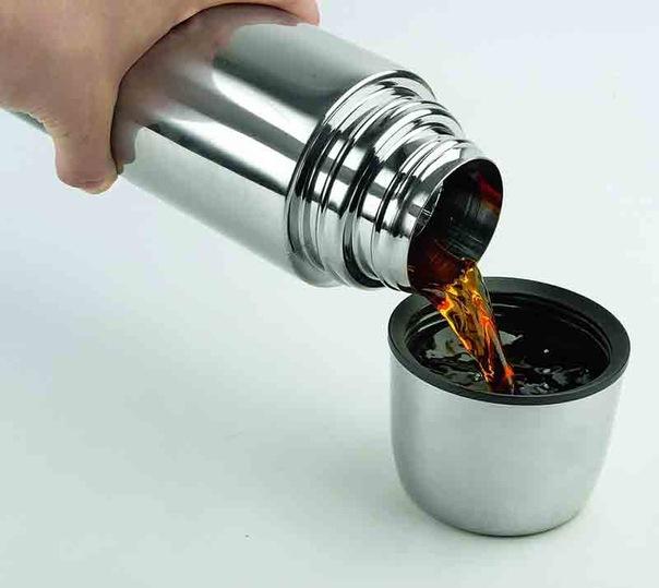Чай в термосе испортится быстрее