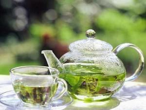 Приготовление масок с зеленым чаем