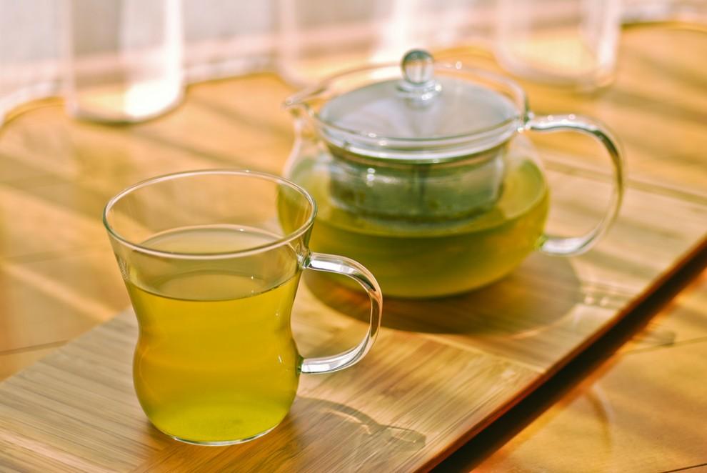 Зеленый чай поможет омолодить кожу