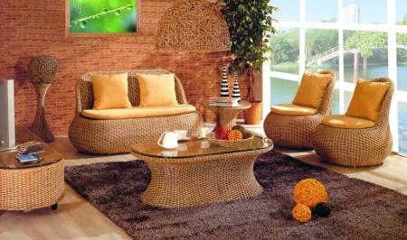 Дизайн гостиной в стиле «Эко»