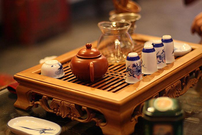 В августе в антикафе «Point» состоялась классическая японская чайная церемония под названием Тя-Но-ю