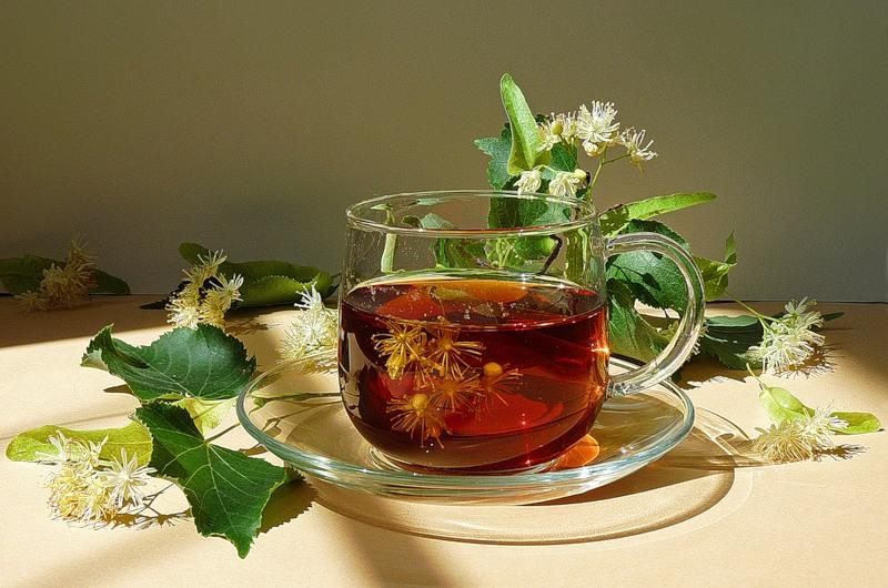 Липовый чай поможет сохранить женскую красоту