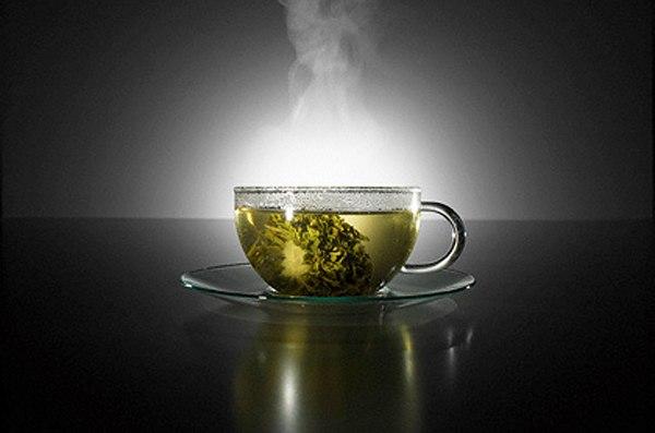 Зеленый чай добавит молодости вашей коже