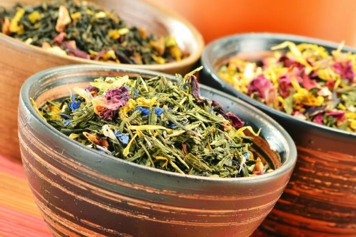 В травяных чаях таится не малая польза для организма