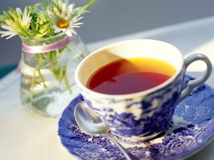 Чай на службе красоты