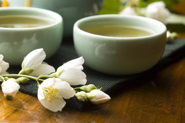 Правильное приготовление зеленого чая с жасмином