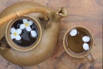 Полезные свойства зеленого чая с жасмином