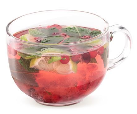 Клюквенный чай защитит от простуды