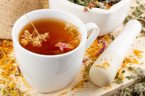 Травяные чаи помогут похудеть
