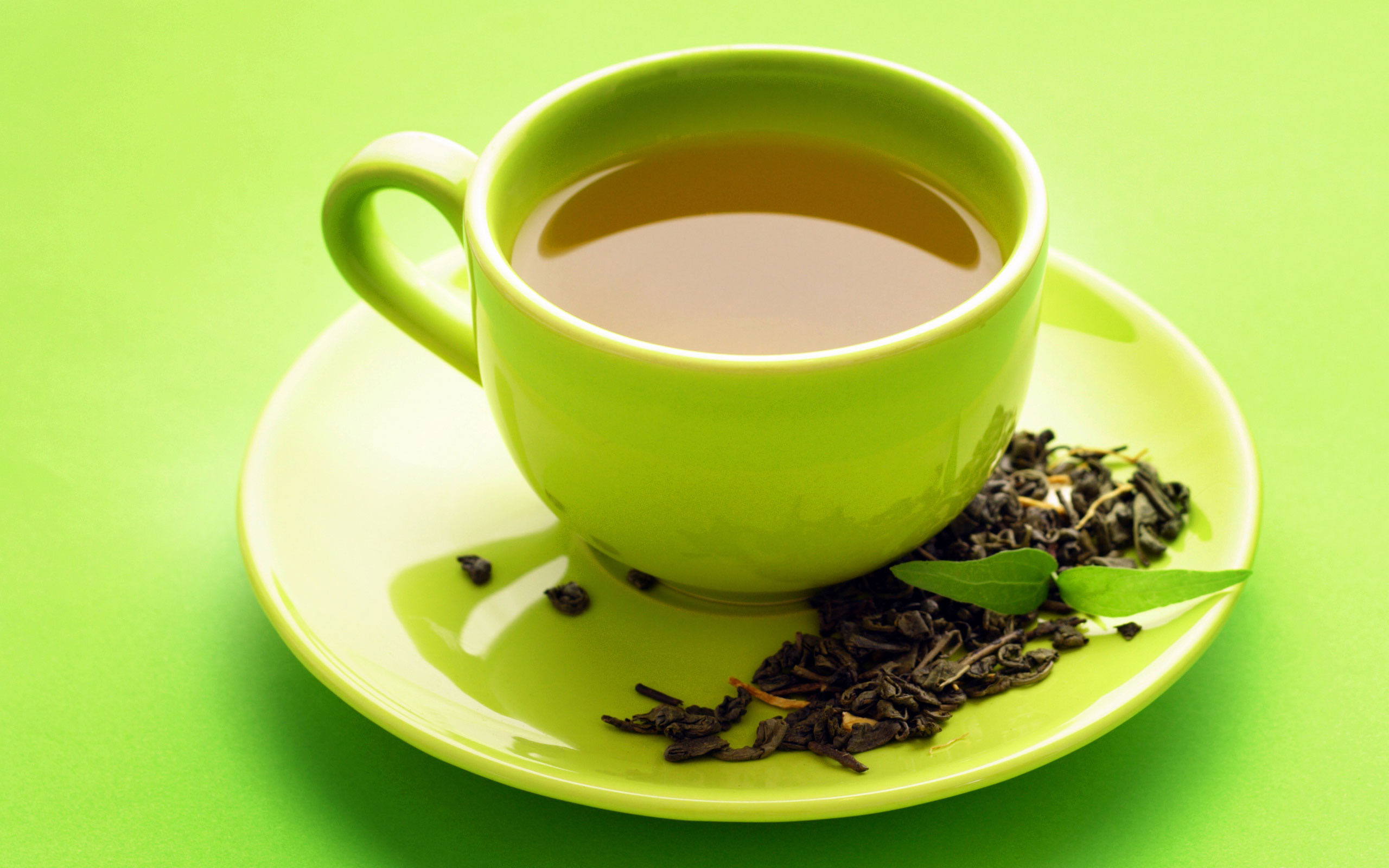 Зеленый чай может спасти от рака