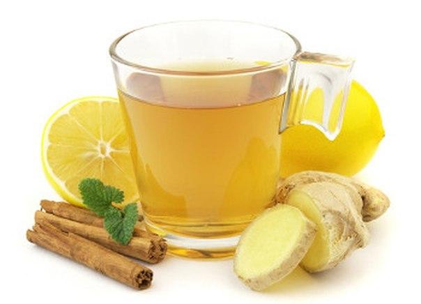 Имбирный чай поможет избавить от ожирения