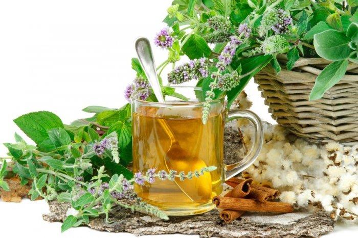 Травяной чай поможет снизить вес