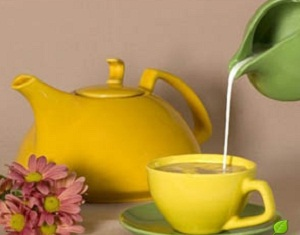 Зеленый чай с молоком поможет снизить вес