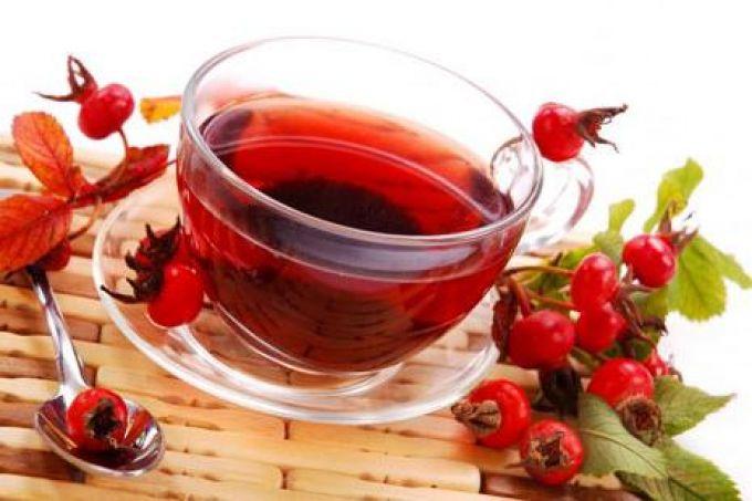 Чай из шиповника и его польза