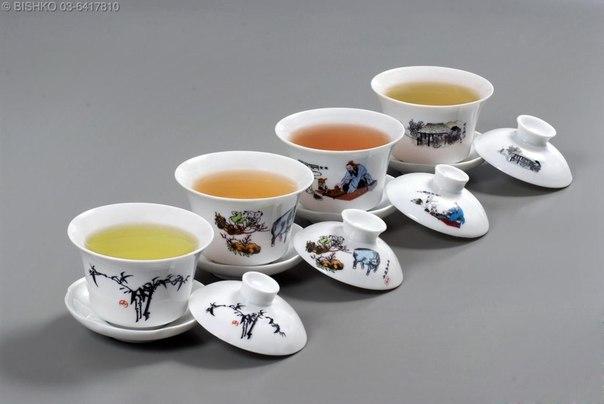 Различные виды чая и их польза