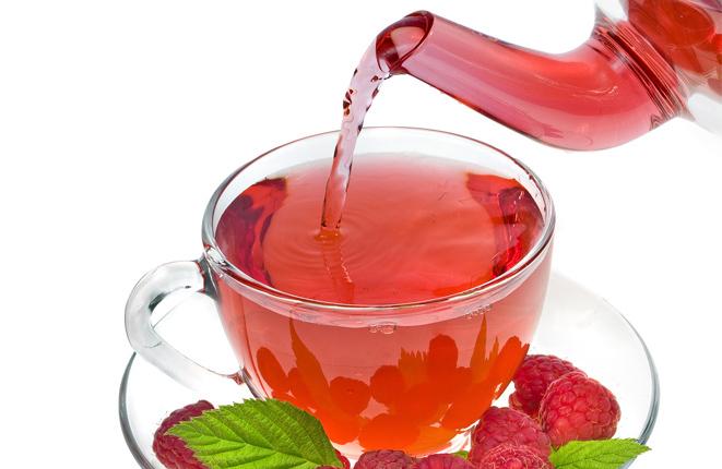 Малиновый чай и его польза