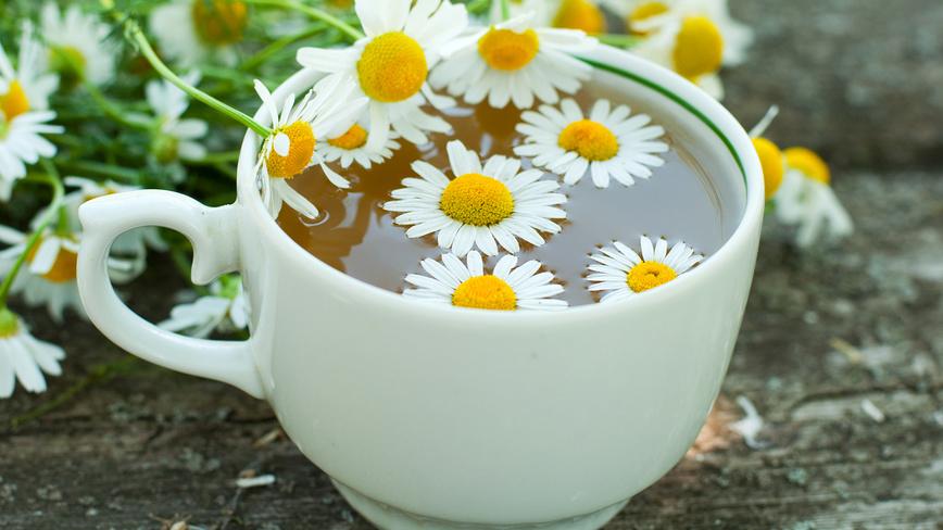 Ромашковый чай для профилактики заболеваний щитовидной железы