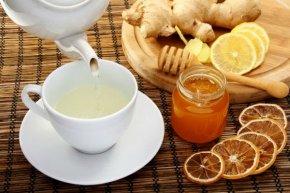 Готовим имбирный чай