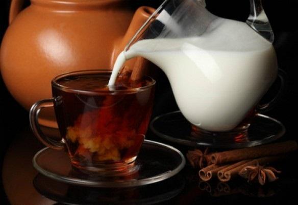 Чай с молоком может навредить