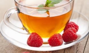 Готовим чай из листьев малины