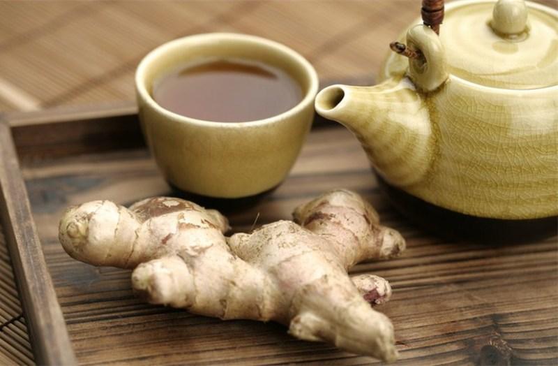 Имбирный чай поможет победить простуду