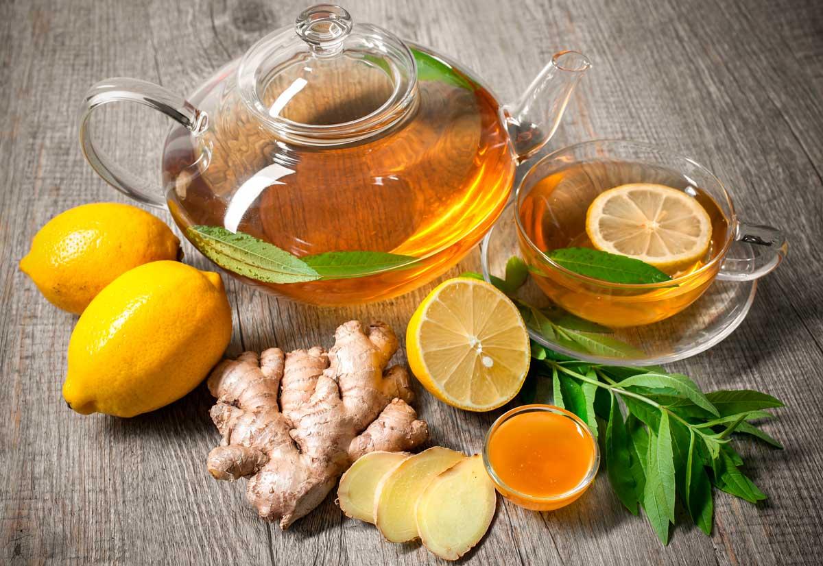 Готовим чай против простуды