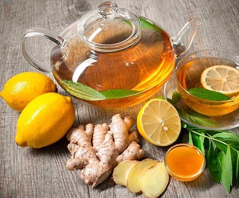 Имбирный чай вылечит гипертонию