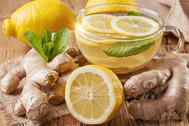 Имбирный чай способствует укреплению иммунитета