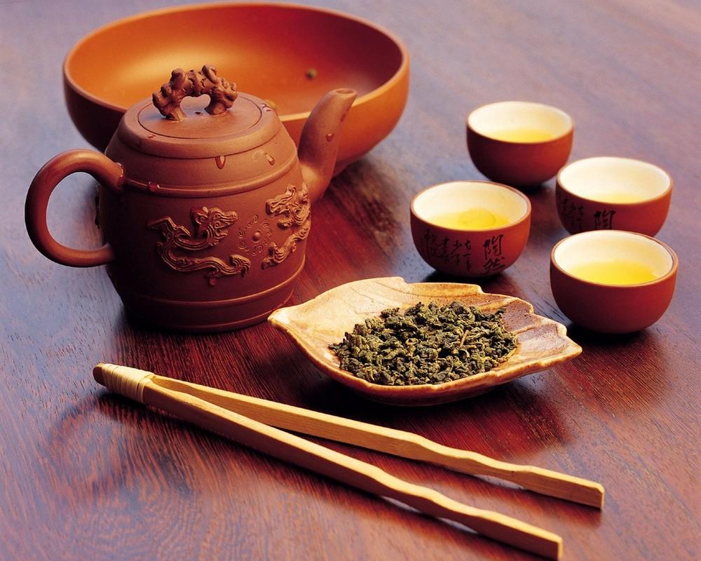 Основные виды китайского чая