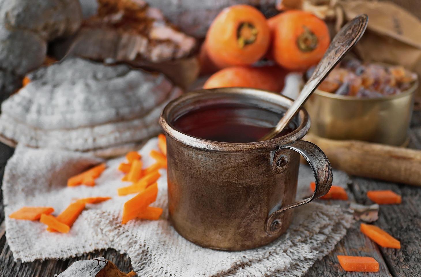 Морковный чай поможет освежиться