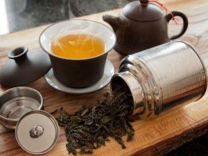 Полезные добавки к зеленому чаю
