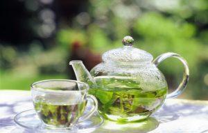 Зеленый чай поможет избавиться от акне