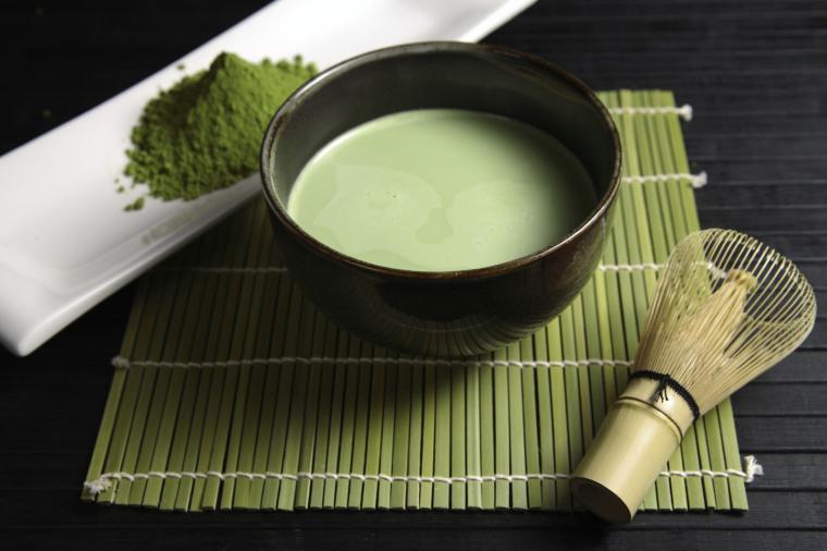 Японский чай матча полезен для организма