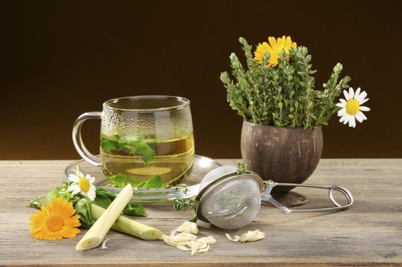 Готовим чай для успокоения нервов