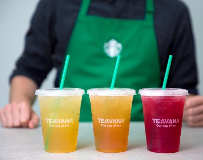 Starbucks расширяет чайный бренд Teavana