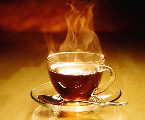 Горячий чай поможет охладиться в жаркую погоду