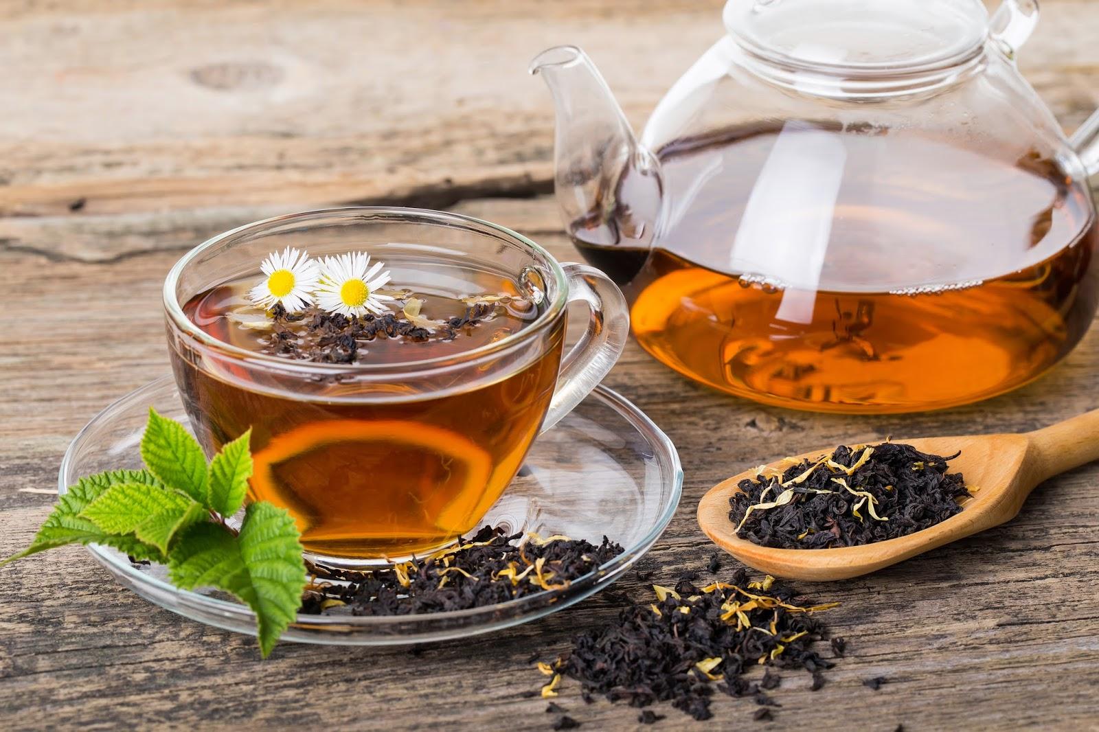 Чай полезнее воды
