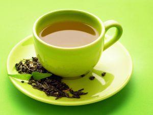 Зеленый чай омолодит кожу