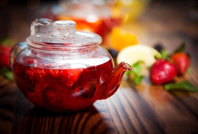 Три идеи душистого ягодного чая