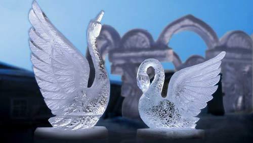 Ледяное царство – подход к оформлению торжества