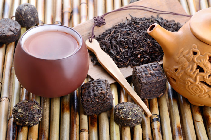 Свойства чая пуэр