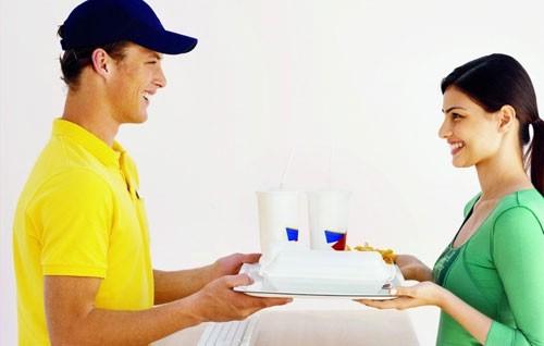 Преимущества заказа еды на дом