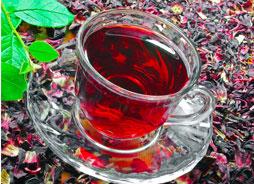 Чай каркаде — волшебный напиток